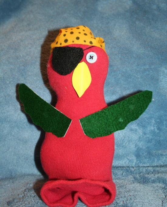 Pirate Sock Parrot ! - tribe.net