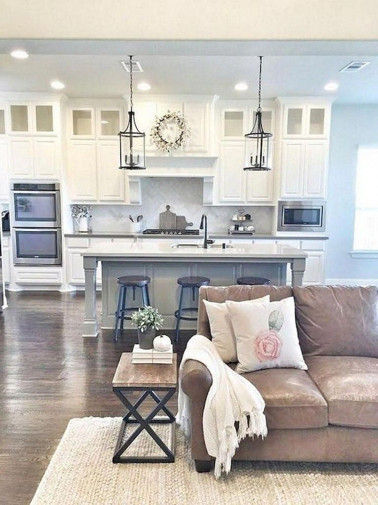 57 Inexpensive Farmhouse Kitchen Ideas On A Budget Kitchende