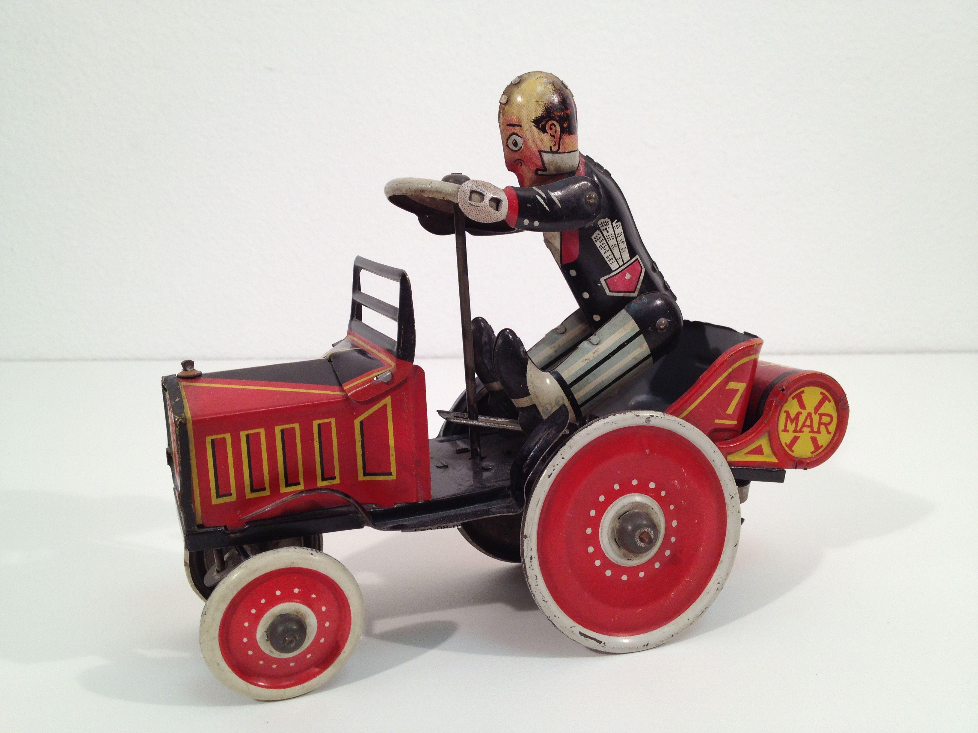 Toys cars pics  us Marx Coo Coo Crazy Car Windup Tin Toy   Crazy Cars