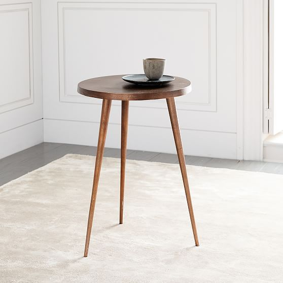 tripod side table copper in 2018 products pinterest table rh pinterest com west elm round nesting side tables set west elm round nesting side tables set