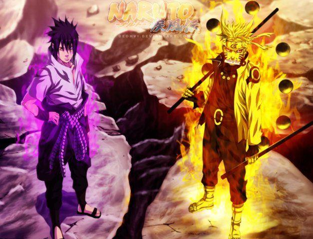 naruto 674 sasuke and naruto vs madara the final battle begins