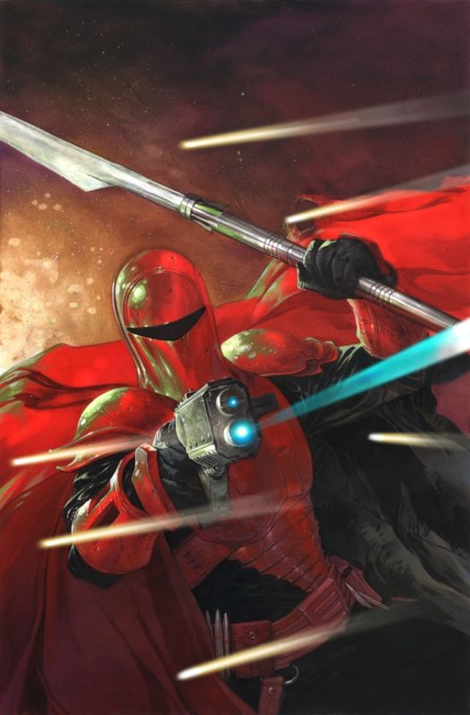 bear1na: Star Wars - Darth Maul and Crimson Guard by Dave Dorman *