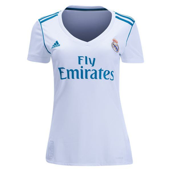 womens real madrid home jersey