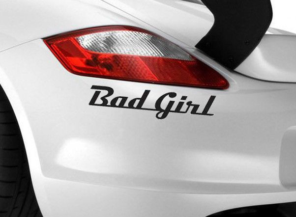 Bad Girl Gang Car Sticker Funny Art UniqueVan X JDM VW VAG EURO - Unique car decals