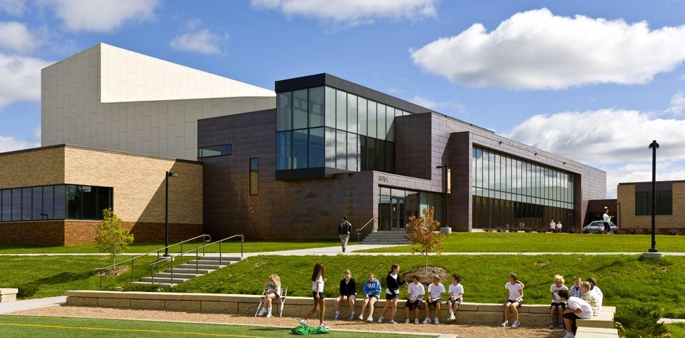 Edina high school valley view middle school perkins for Exterior design institute