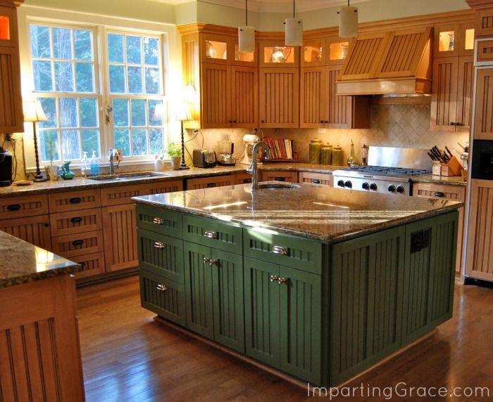 Http://www.impartinggrace.com/2014_03_01_archive.html · Kitchen ColorsGreen Kitchen  IslandKitchen ...