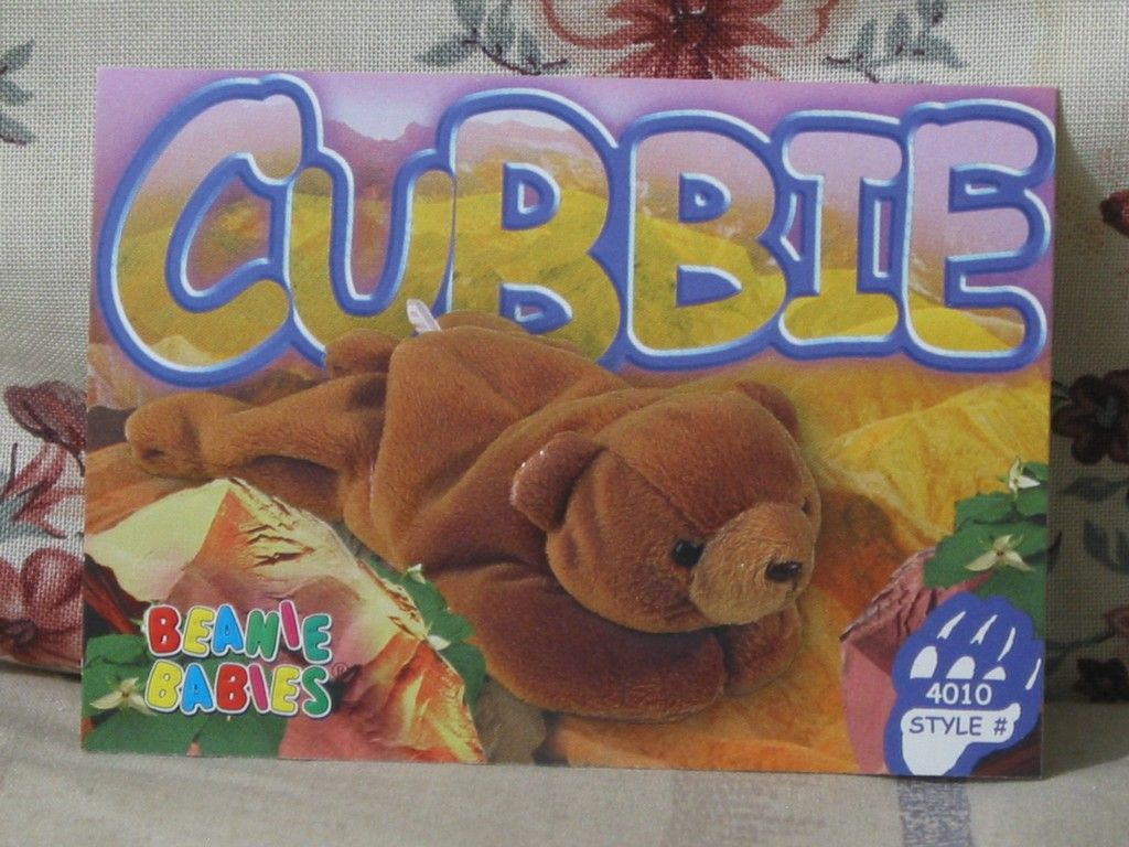 The lost popularity of beanie baby cards baby beanie