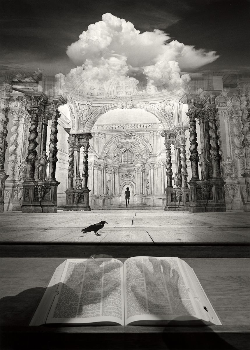Black & White Photography - Limitless Mindgames, by Jerry Uelsmann