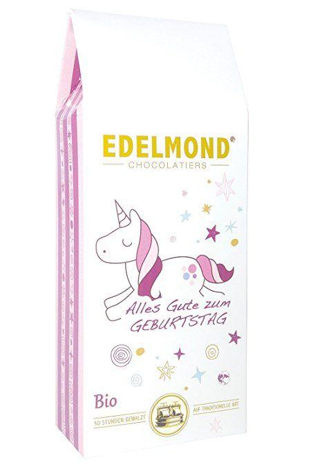 Edelmond® Einhorn zum Geburtstag Schokolade ✓ Beste weiße Frucht ...