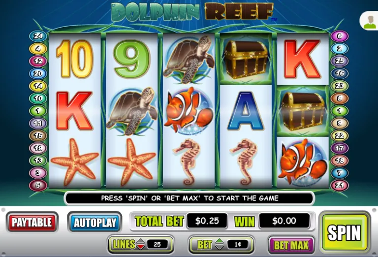 Liberty Slots 50 Free Dolphin Reef Spins Special Promo Casino