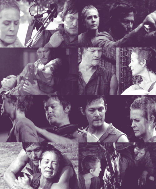 daryl and carol relationship