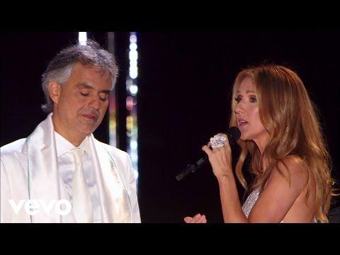 Andrea Bocelli Celine Dion The Prayer Youtube Souls
