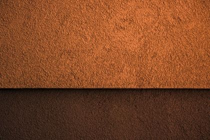 Orange Brown Split Wall Texture White Decor Cliff Wallpaper