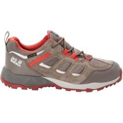 Photo of Jack Wolfskin Waterproof Men Hiking Shoes Vojo Hike Extended Version Texapore Low Men 45 brown