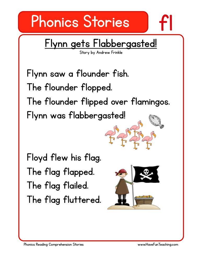 Reading Comprehension Worksheet - Flynn gets Flabbergasted ...