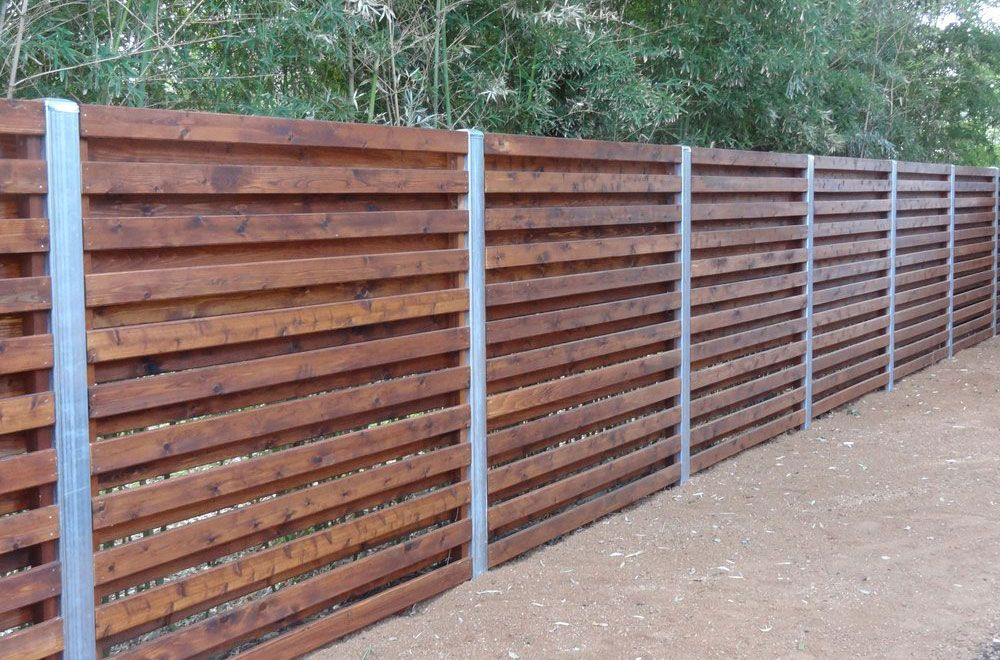 Wood Fence American Fence Fencing Products Hickory Zahrada