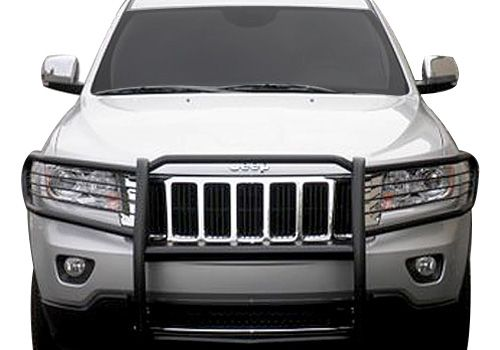 Jeep Grand Cherokee Accessory   Aries Off Road Jeep Grand Cherokee Black  Powdercoat Brush Guard