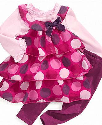 Nannette Baby Set, Baby Girls Tunic and Leggings - Kids - Macy's