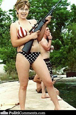Sarah palin beauty queen bikini