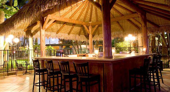 Say cheers at the Hawaiian Palapa Bar to a family-friendly ... on Palapa Bar Backyard id=49265