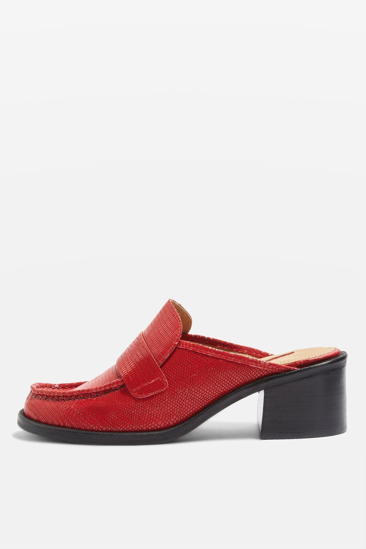 59422e157605e KOLOUR Slip On Mule Loafers