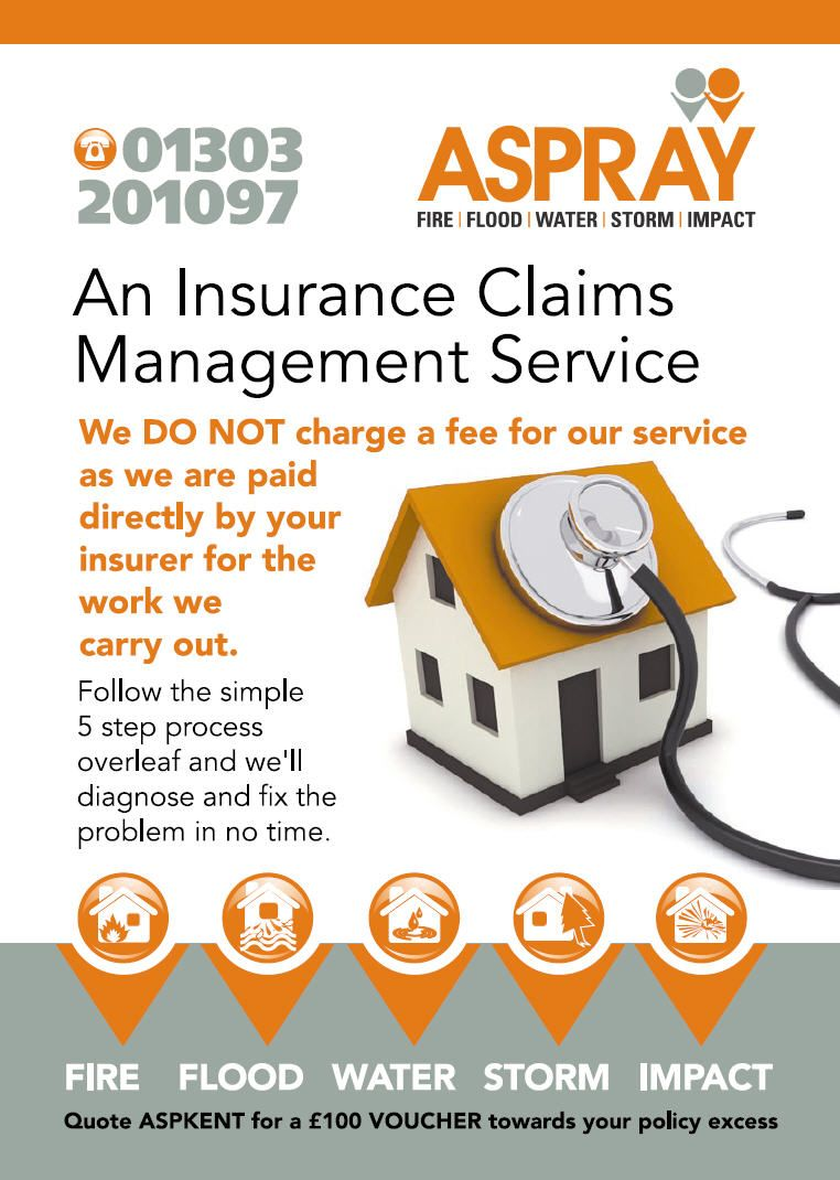 A4 Leaflet Front For An Insurance Claims Management Company Leaflet Design For Insurance Claims Management Www T Leaflet Design Leaflet Management Company