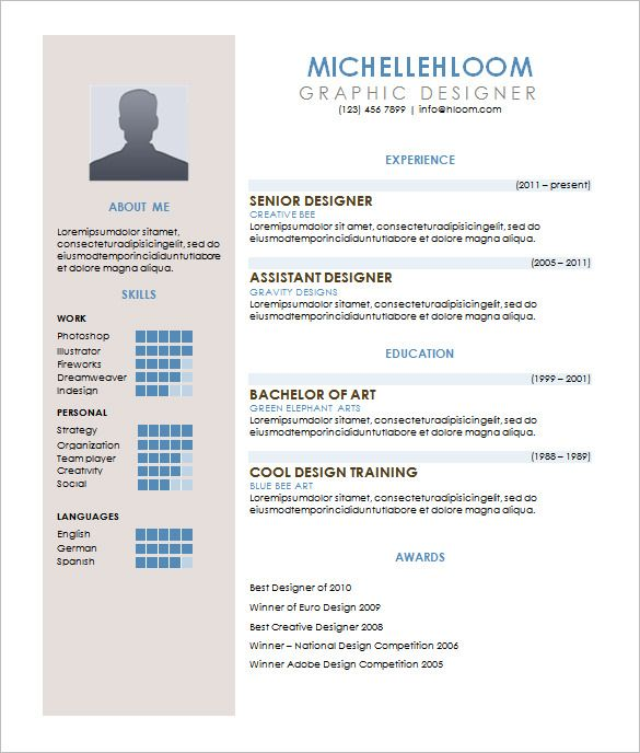 Cv Template Excel Resume Format Simple Resume Template Downloadable Resume Template Resume Template Word