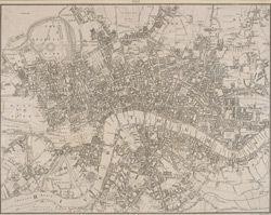 Map of London 1818 via UCLA