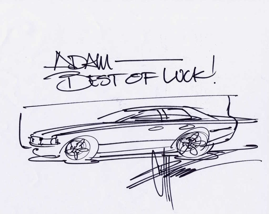 chip foose sketches for sale - Google Search