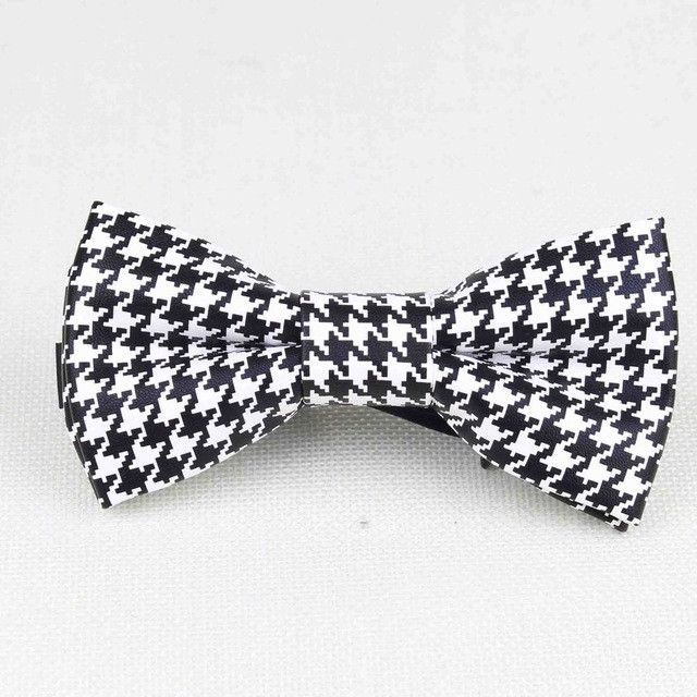 High Quality Color Print Leather Bow Tie  Products
