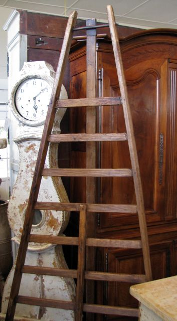 French Orchard Ladder Antiques Handmade Chair Ladder
