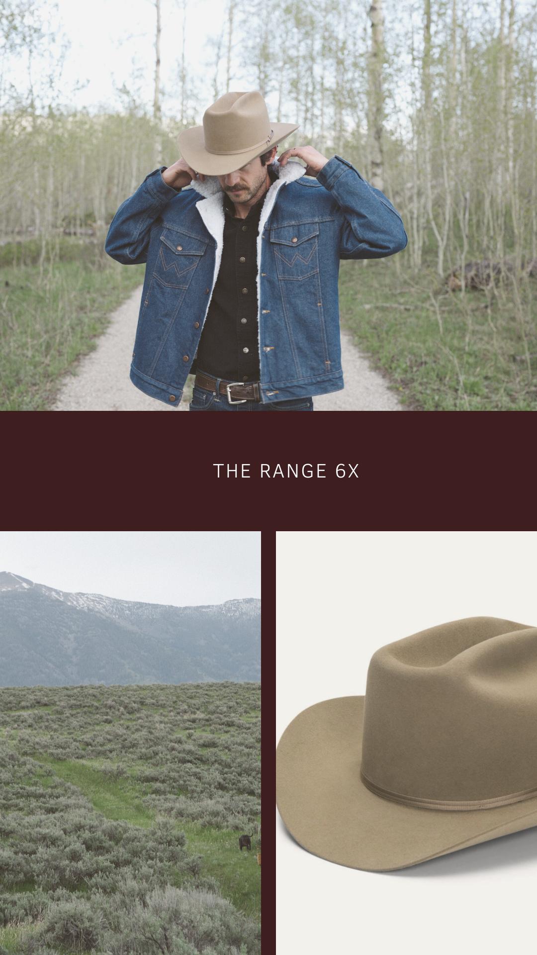 Range 6x Cowboy Hat Cowboy Hats Cowboy Hats