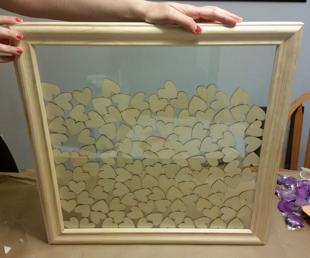 How To Make A Guest Book Picture Frame With Images