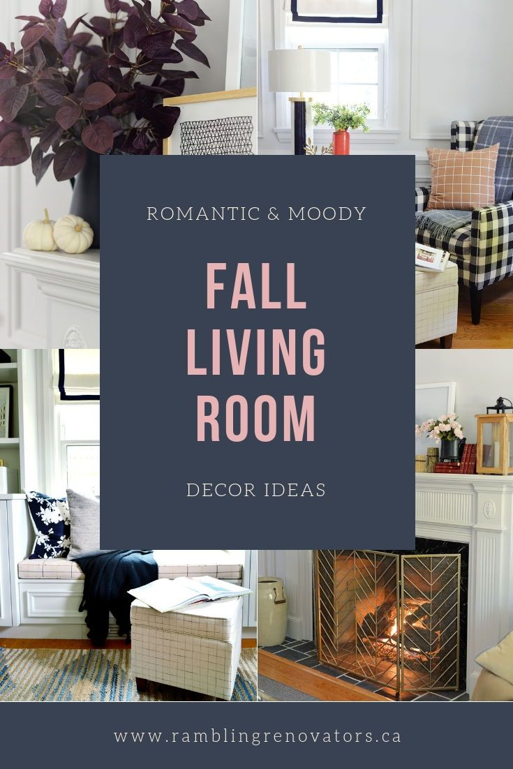 Easy and simple fall decor ideas livingroom falldecor also decorating my year old home rh pinterest