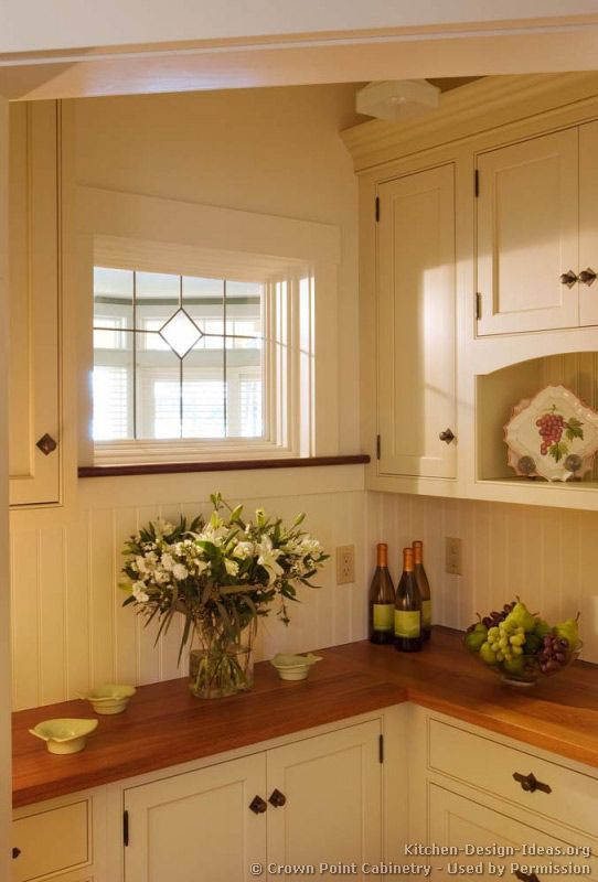 Kitchen Design Ideas Org Glamorous Traditional Twotone Kitchen Cabinets #09 Crownpoint Inspiration Design