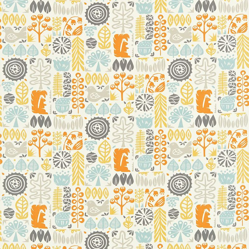 Interiors · Scion Melinki One Woodland Fabric Collection 120108