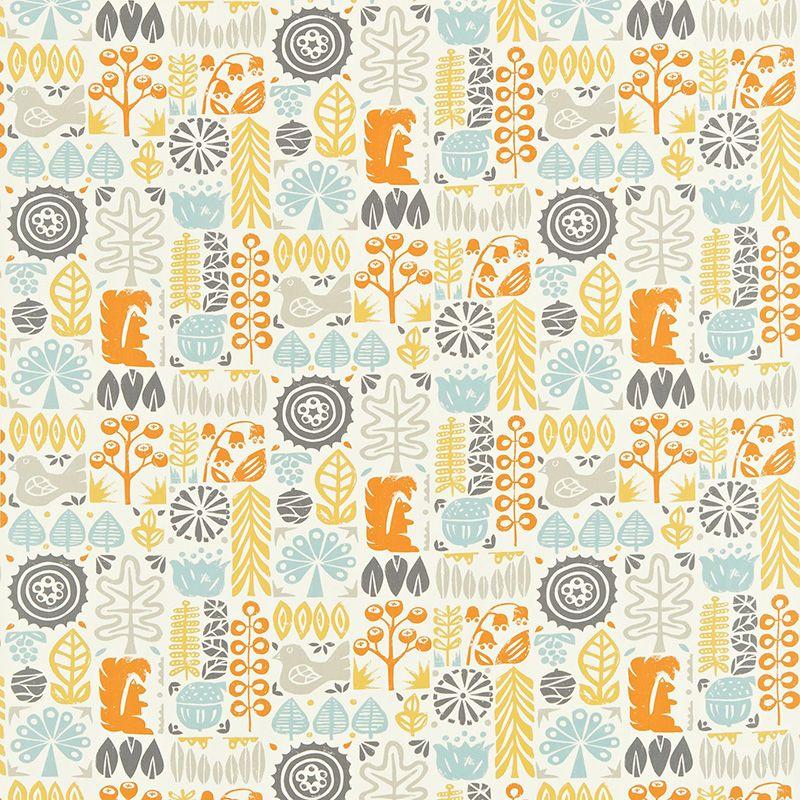 Interiors · Scion Melinki One Woodland Fabric Collection 120108