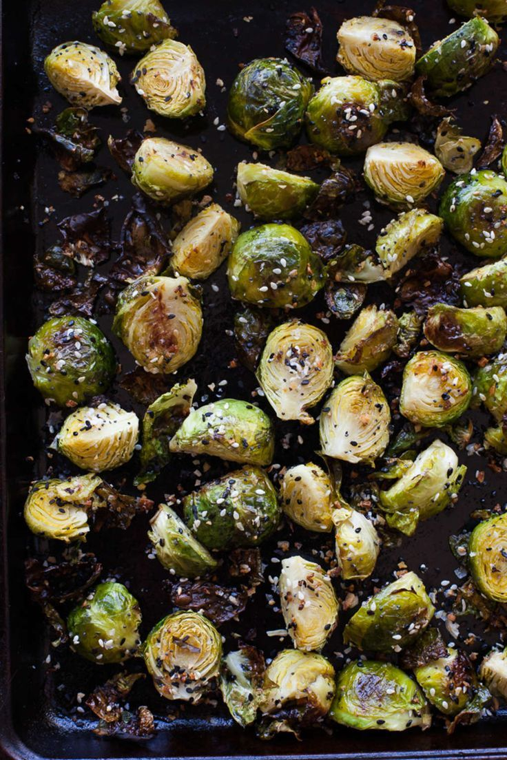 These Everything Bagel Brussels Sprouts Are Everything