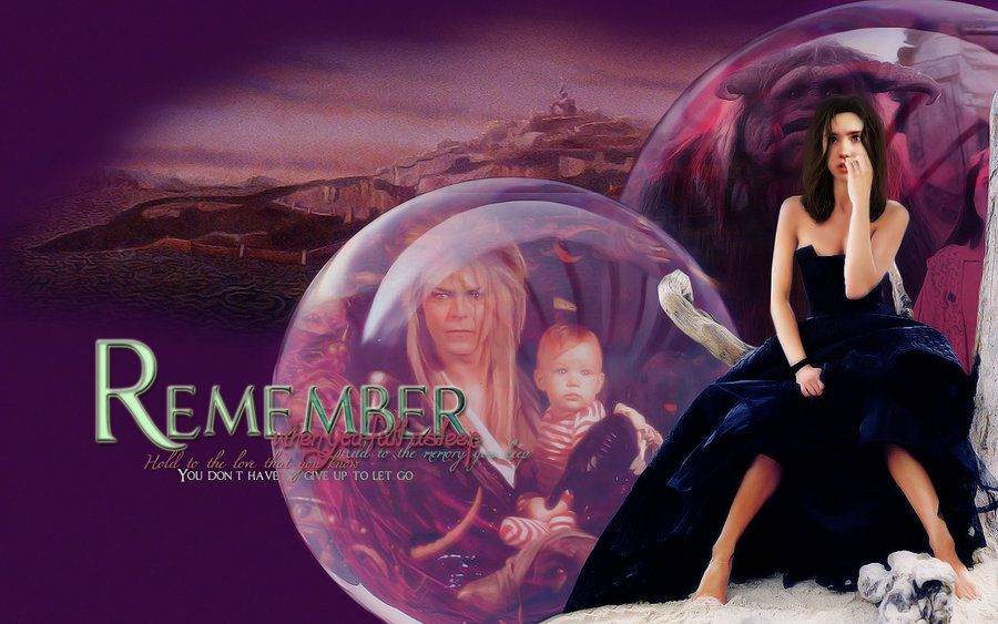 labyrinth movie art | Remember - Labyrinth Wallpaper by ... Labyrinth 1986 Wallpaper