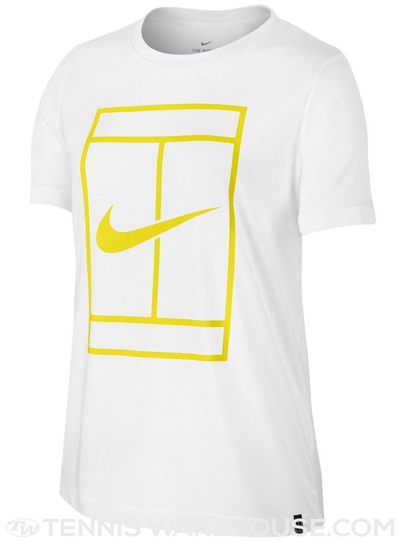 Nike Women S Spring Court Logo T Shirt Tennis Outfit Women Nike Women Tennis Clothes