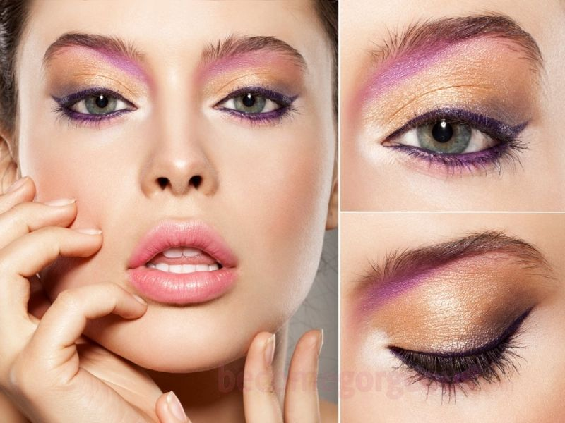 70s Eye Makeup Ideas Colorful Eyeshadows Tips Mehndi Designs