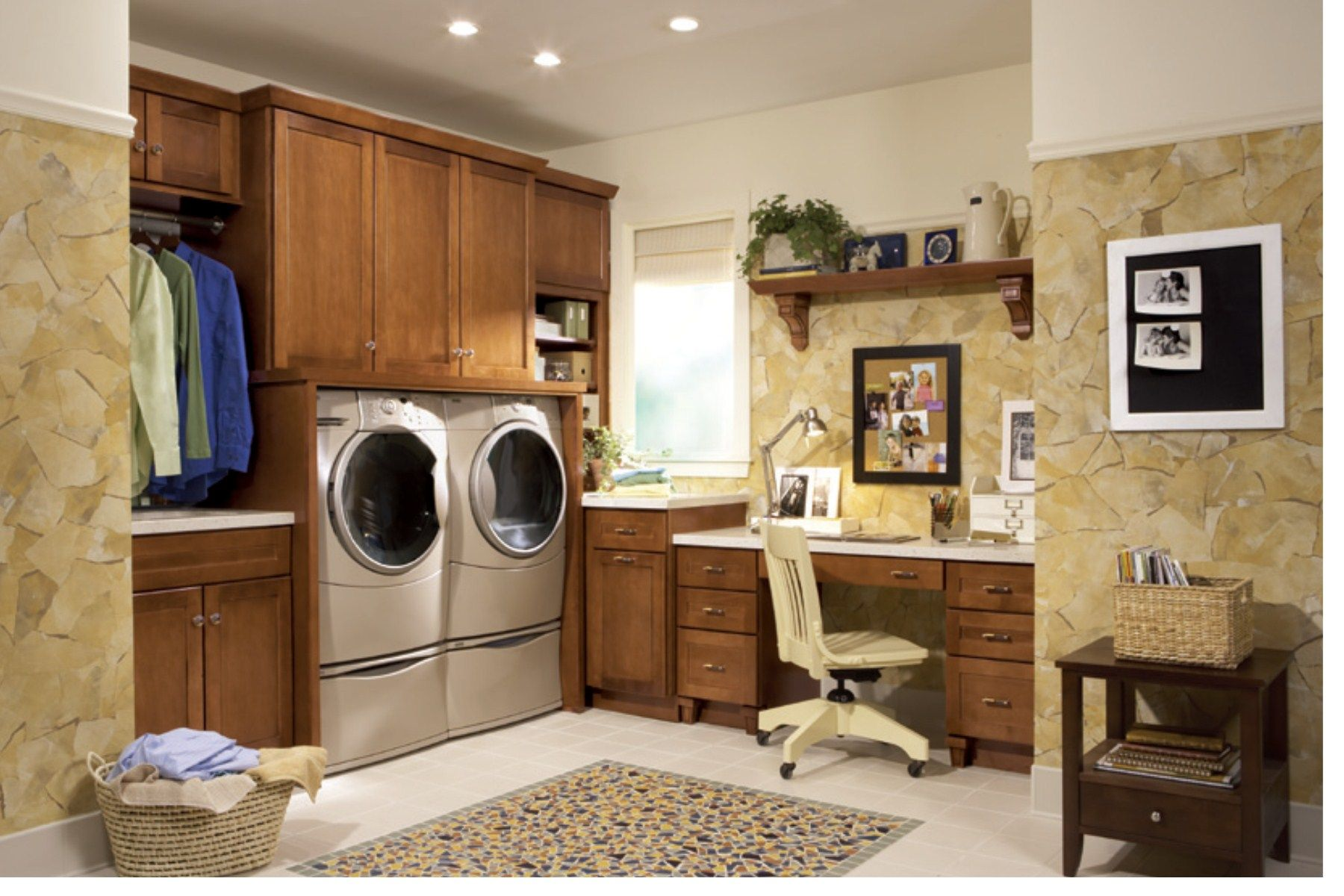 Laundry room office house finds pinterest for Laundry room office
