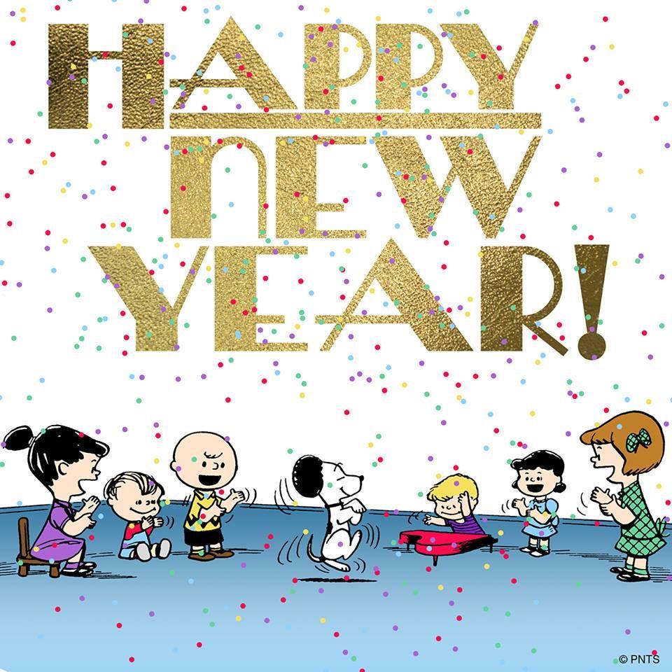 Happy New Year! Snoopy happy new year, Snoopy new year