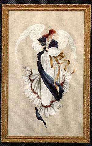 Beauty and Angels Counted Cross Stitch Patterns Chart Needlework DIY