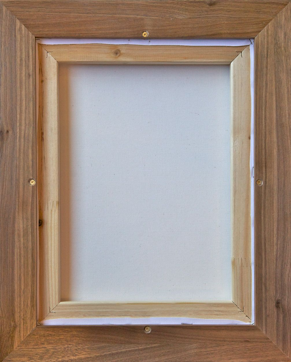 Building a floater frame for already stretched canvas. | Great Ideas ...