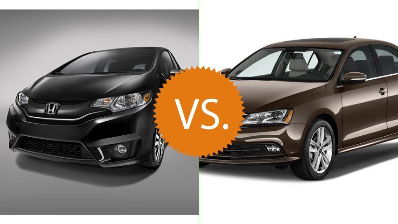Compare 2016 Honda Fit Vs Volkswagen Jetta