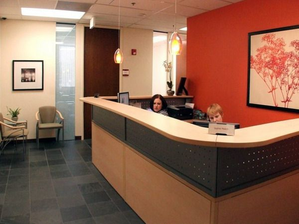 Doctor Office Decorating Ideas Modern Large Reception Office