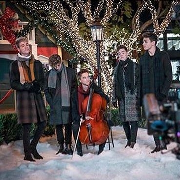 check out their new song can i kiss you this christmas