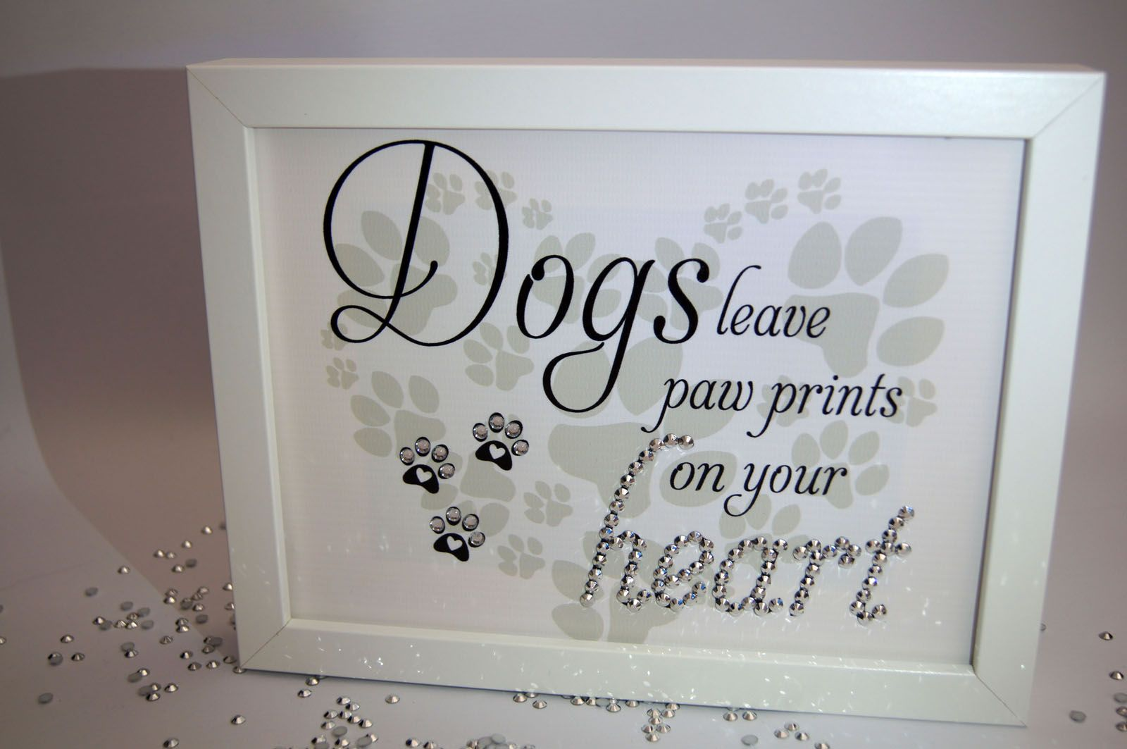 Dogs Leave Pawprint, Sparkle Word Art Pictures, Quotes, Sayings ...