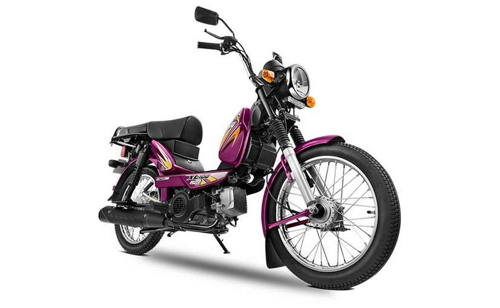 Tvs Xl 100 Bs6 Launched Priced From Rs 42 362 2020 Bike